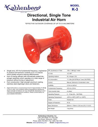 K-3 Industrial Air Horn