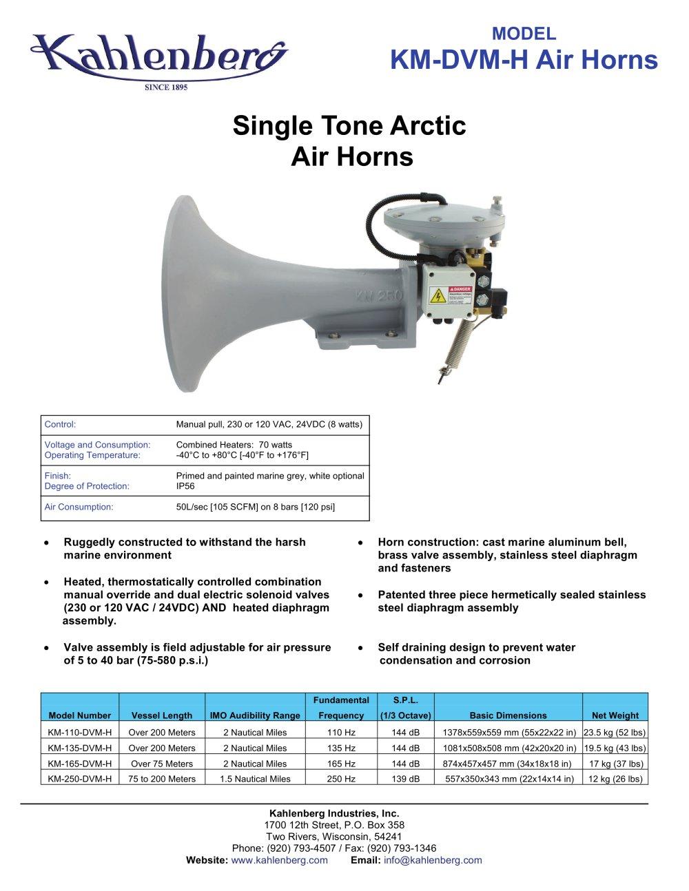 WRG-3813] Air Horn Diaphragm on