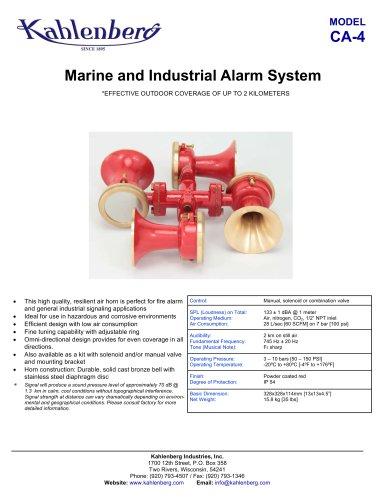 Model CA-4 Air Alarm