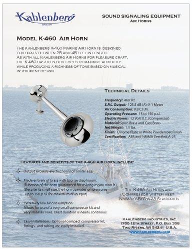 Model K-460 Air Horn