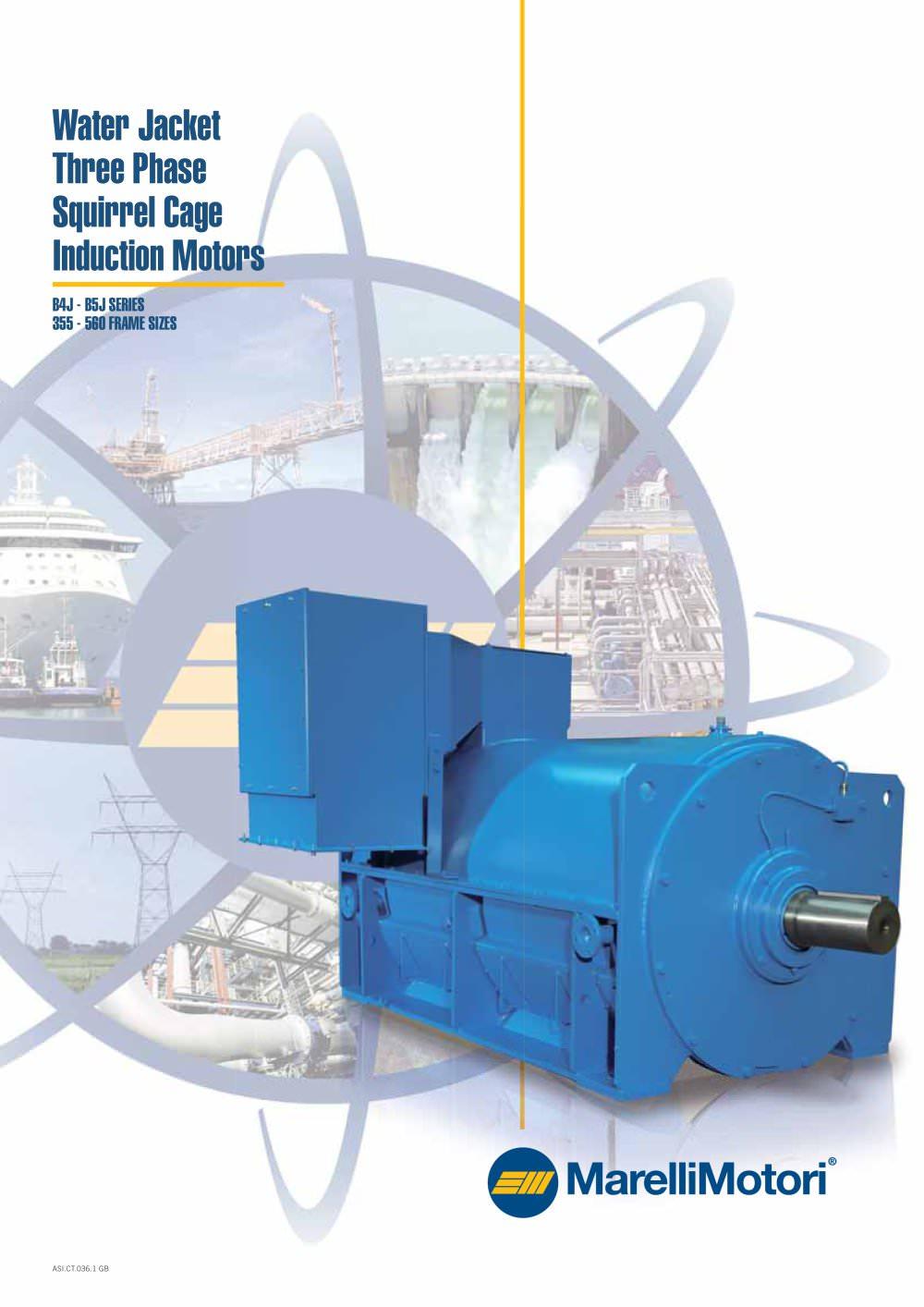 Water Jacket Motors Catalogue - Marelli Motori - PDF Catalogues ...