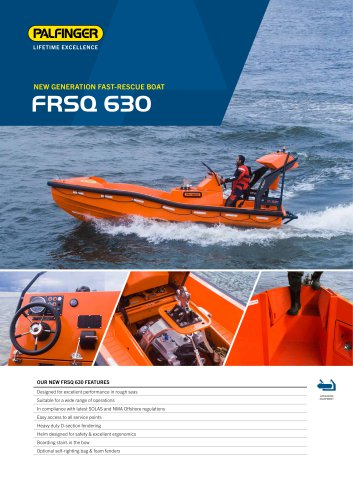 PRODUCT SHEET FRSQ 630
