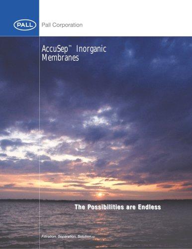 AccuSep Inorganic Membranes - Accu100