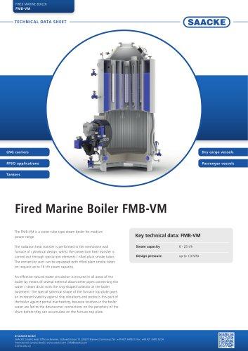 Fired Marine Boiler FMB-VM
