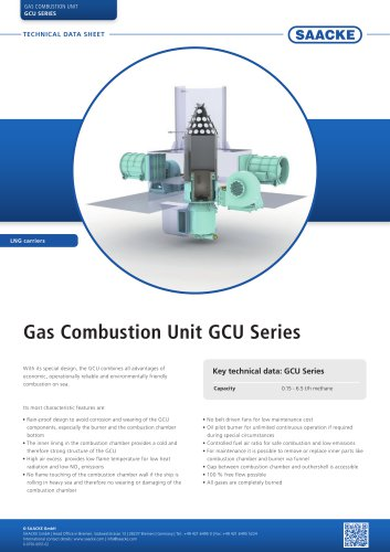 Gas Combustion Unit GCU