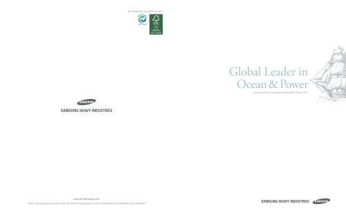 Global Leader in Ocean & Power