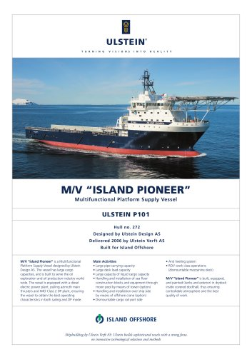 ISLAND PIONEER