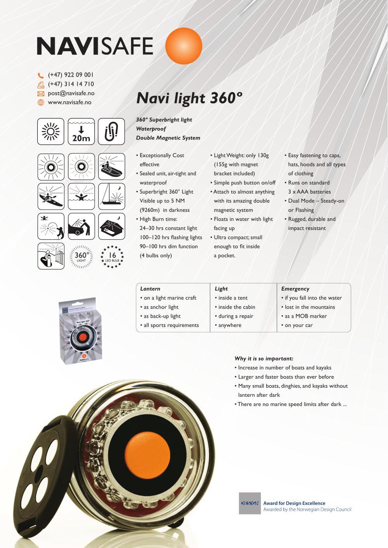 e63f74c8dfb Product flyers - Navisafe - PDF Catalogs