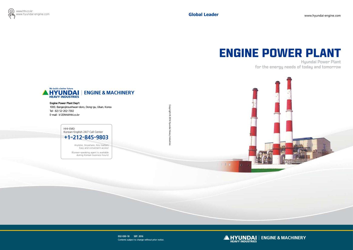 Engine Power Plan Hyundai Marine Engines Pdf Catalogs