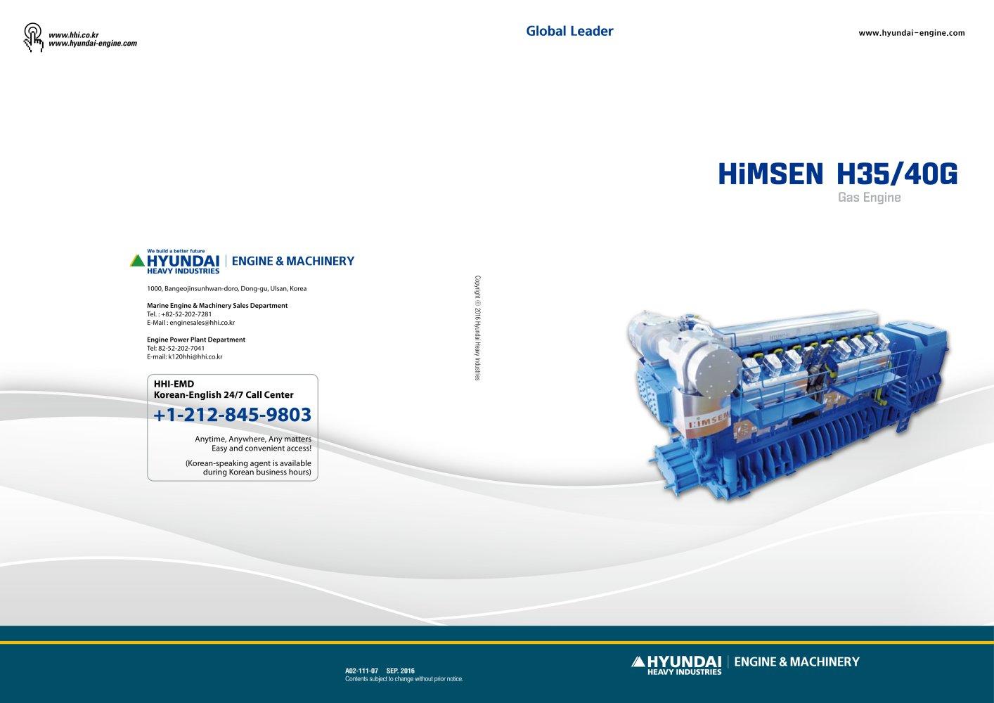 H35 40g V Hyundai Marine Engines Pdf Catalogues Documentation