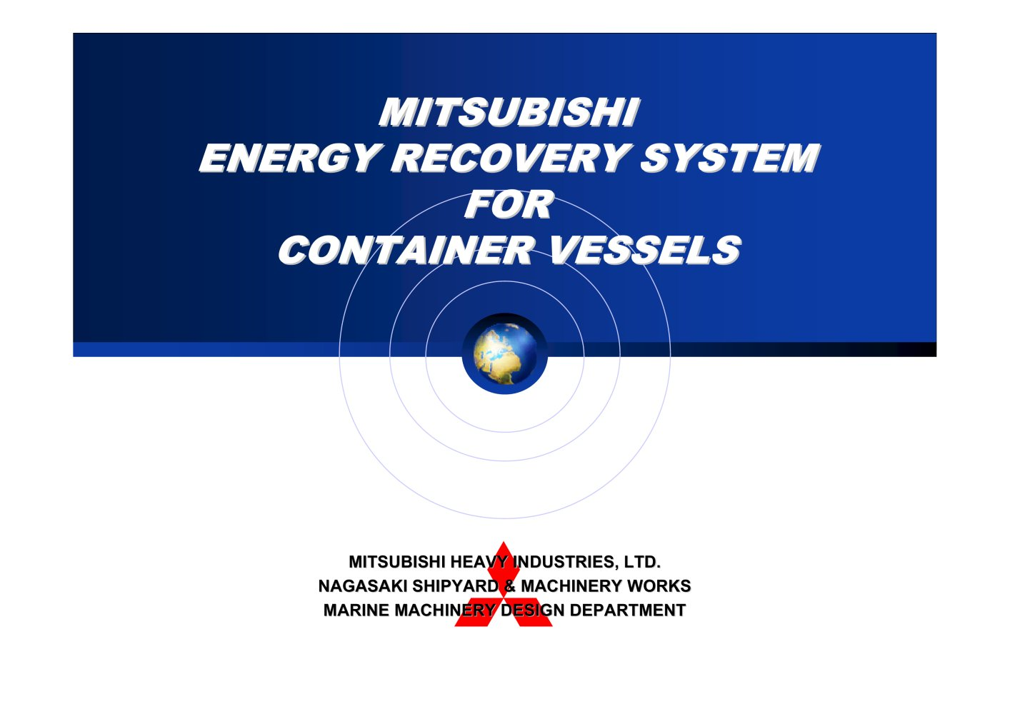 Energy recovery system for container vessels mitsubishi heavy energy recovery system for container vessels 1 22 pages sciox Gallery