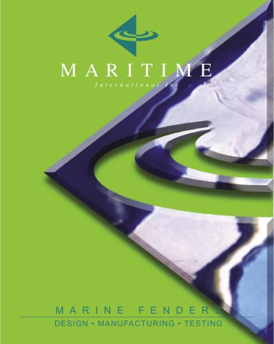 MARINE FENDERS Catalogue