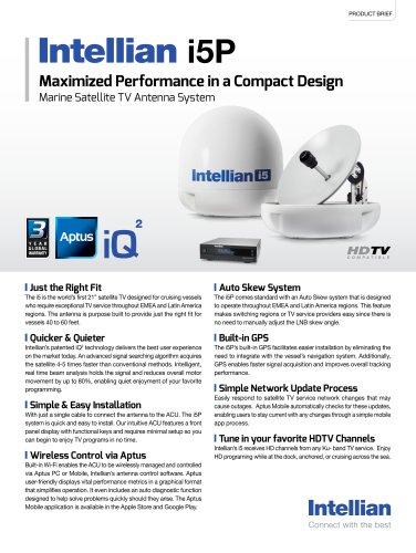 i5P - Intellian Technologies - PDF Catalogs | Documentation
