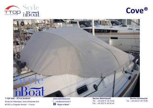 The Cove® equipped on the Beneteau sailboats