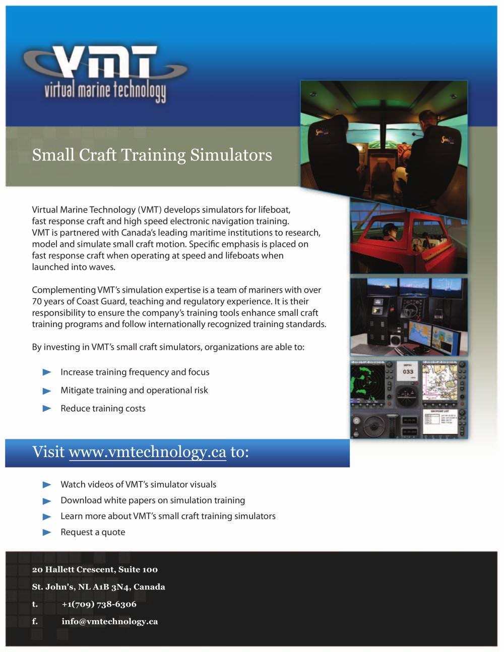 vmt brochure virtual marine technology inc pdf catalogues
