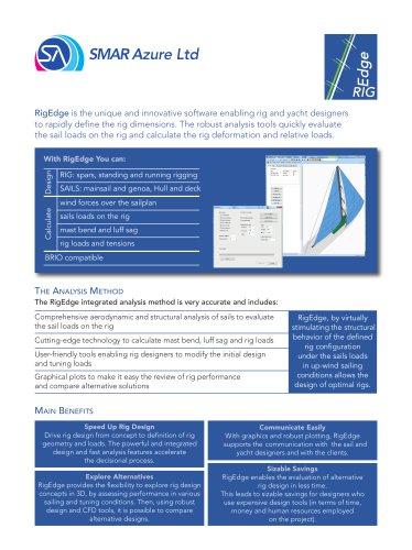 Rid Edge - SMAR Azure - PDF Catalogs | Documentation | Boating Brochures