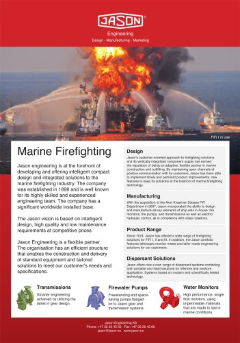 marine firefighting