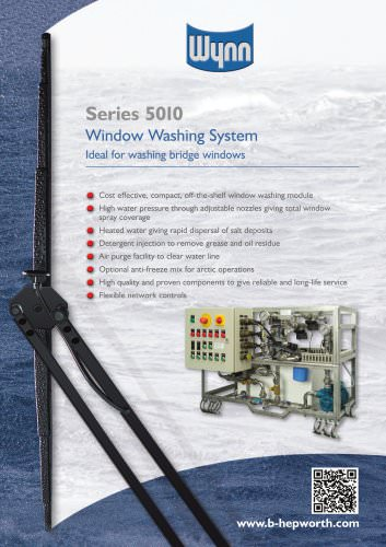 Series 5010 Window Washing System Leaflet pdf