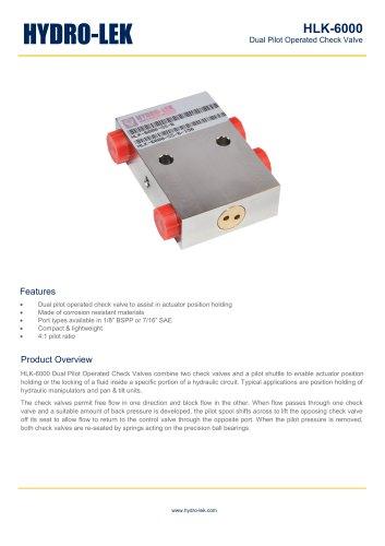 HLK-6000 - Hydro-Lek - PDF Catalogs | Documentation
