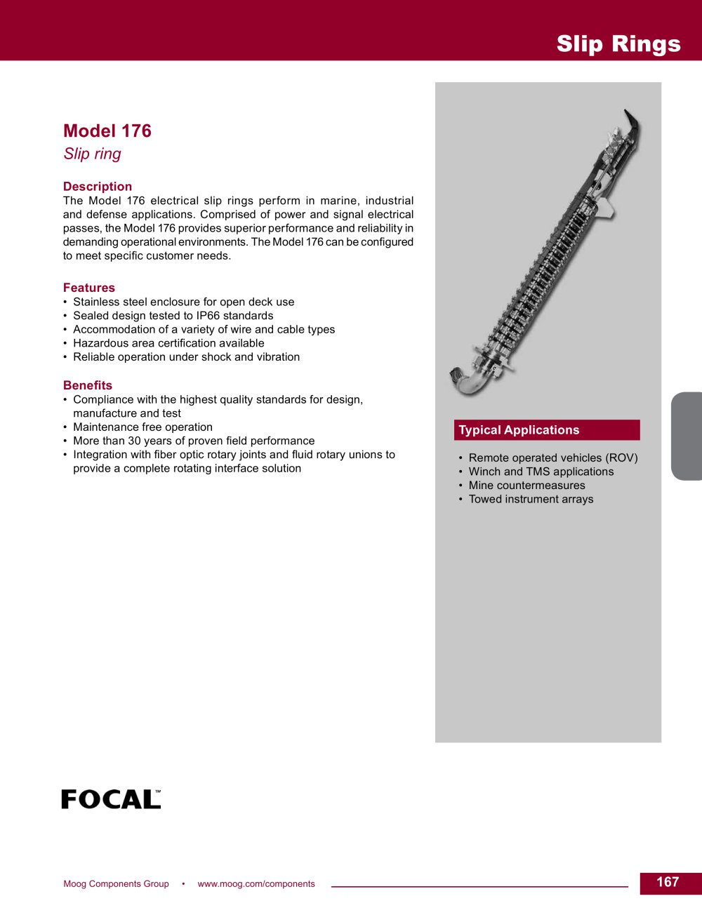 Model 176 - Moog Components Group - PDF Catalogues | Documentation ...