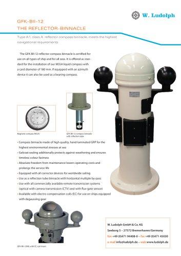 Magnetic Compass binnacle GFK-BII-12