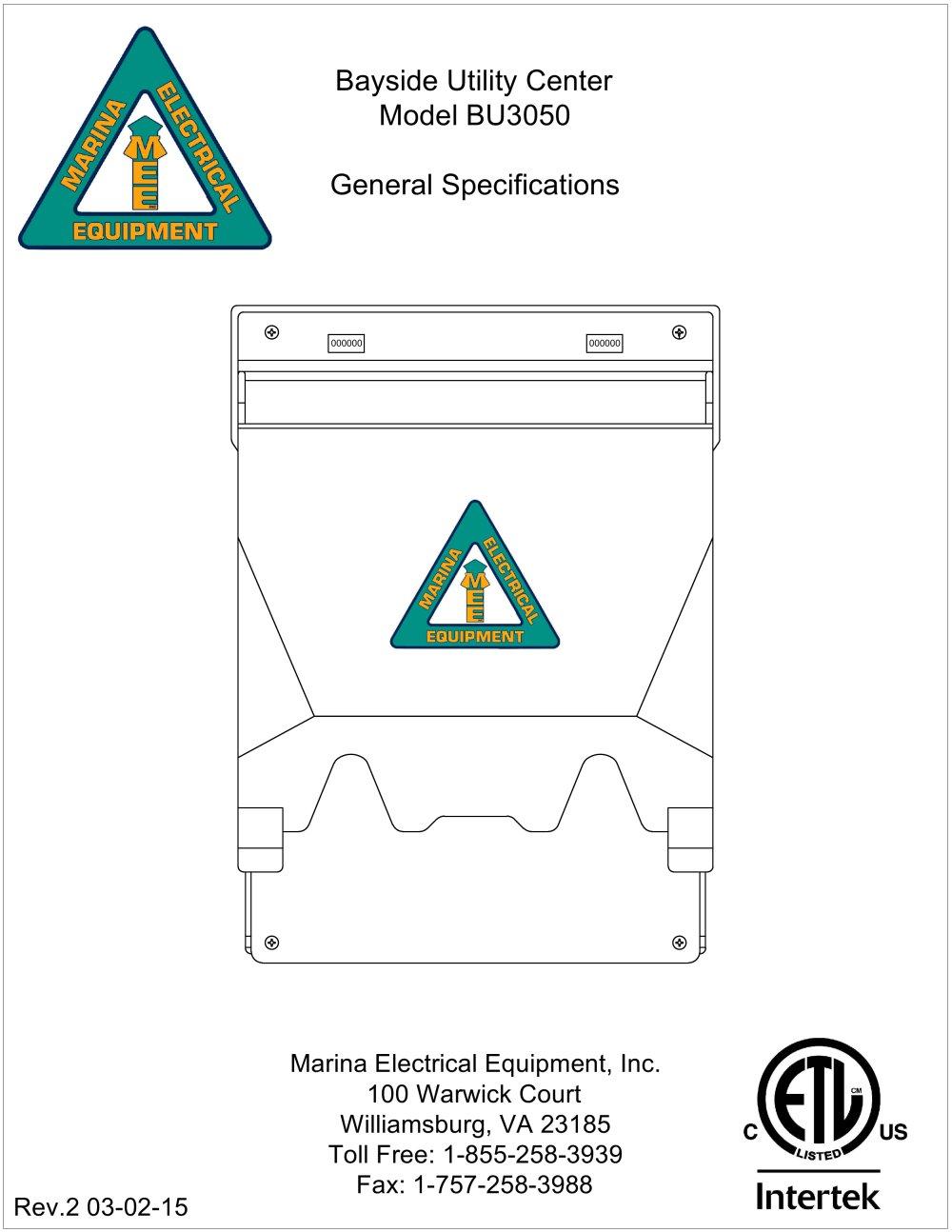bayside utility center marina electrical equipment pdf