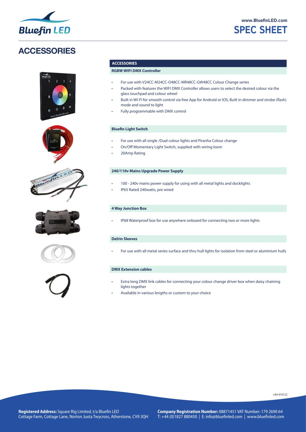 Wifi Dmx Controller Bluefin Led Pdf Catalogues Documentation Wiring Diagram 1 4 Pages