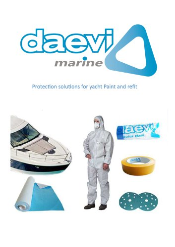 Daevi Marine catalogue