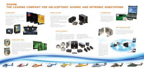 optro avionic equipment for helicopters