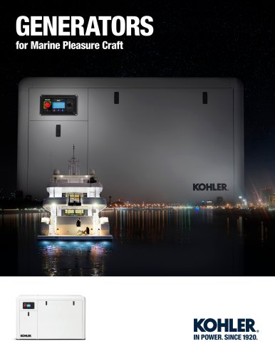 KOHLER Marine Brochure 2015