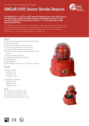 GNExB1X05 Xenon Strobe Beacon