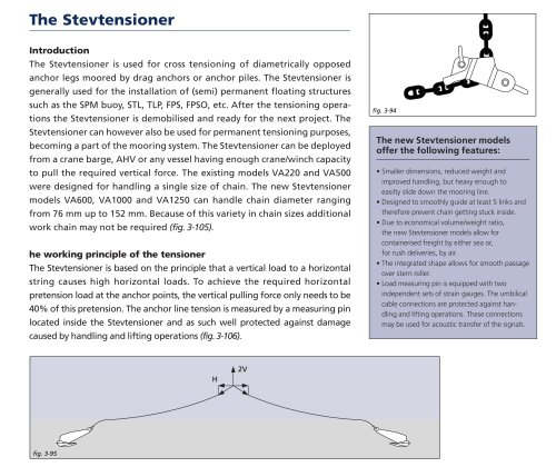 The Stevtensioner - VRYHOF - PDF Catalogs | Documentation | Boating