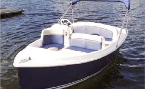Barcos elétricos e híbridos