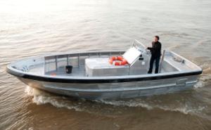 Barcos de trabalho portuário