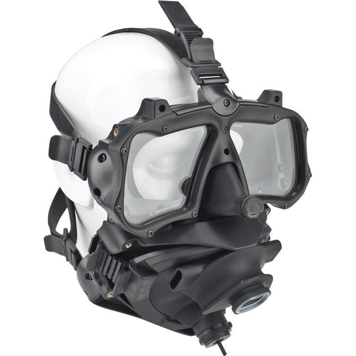 0f67ac4f7 Máscara de mergulho facial integral - M-48 MOD-1 - Kirby Morgan - Vídeos