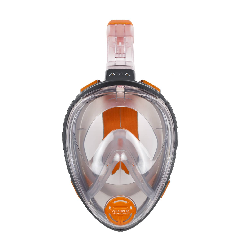 a360d16dd Máscara de mergulho facial integral - ARIA - Ocean REEF - Vídeos