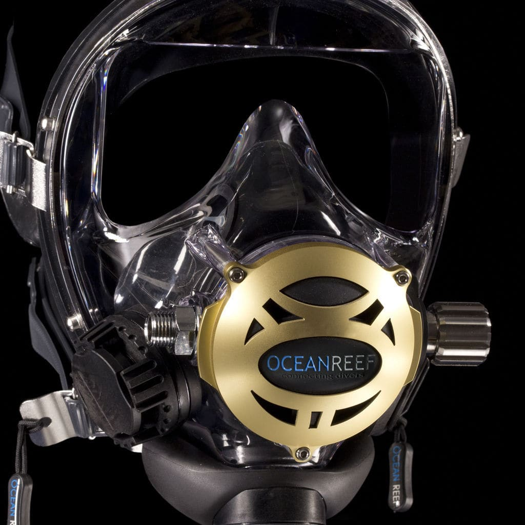 115e8863a Máscara de mergulho facial integral - PREDATOR - Ocean REEF