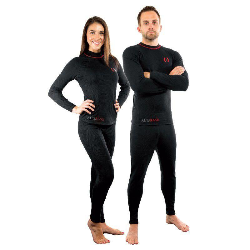 887628249 Conjunto segunda pele polar   para roupa seca   para mergulho - AUG ...