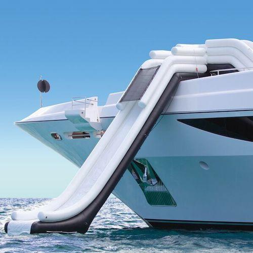 equipamento de diversão aquática escorregador / inflável / para iate