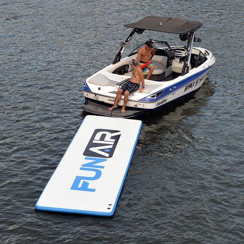 equipamento de diversão aquática plataforma / inflável / para iate