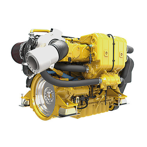 motor para barco profissional / de centro / de propulsão / a diesel