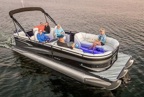 pontoon boat com motor de popa / tri-tube / máx. 16 pessoas
