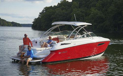 lancha Express Cruiser com motor de centro / híbrida / open / bowrider