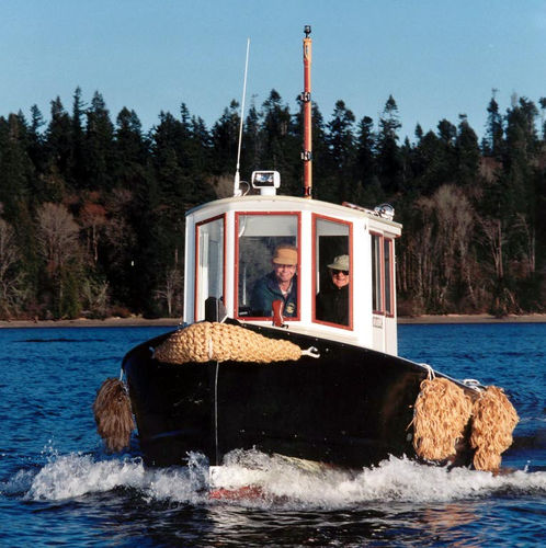 lancha Day Cruiser com motor de centro / clássica