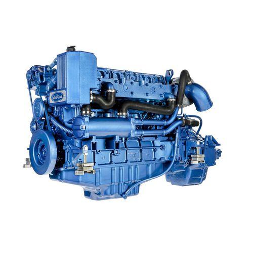 motor a diesel para navio / de injeção direta / a turbo / Tier 1