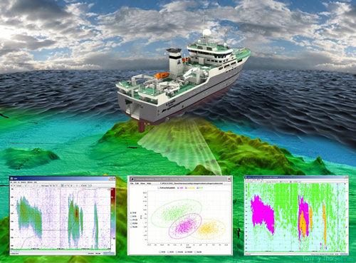 software para pesca profissional / para navio de pesca