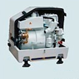 grupo gerador de energia para barco / a diesel / rápido / insonorizado
