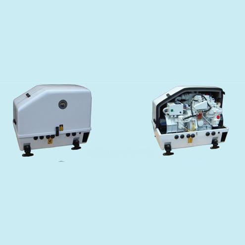 grupo gerador de energia para iate / a diesel / rápido