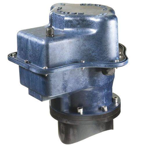propulsor de proa / para barco / elétrico / tipo túnel