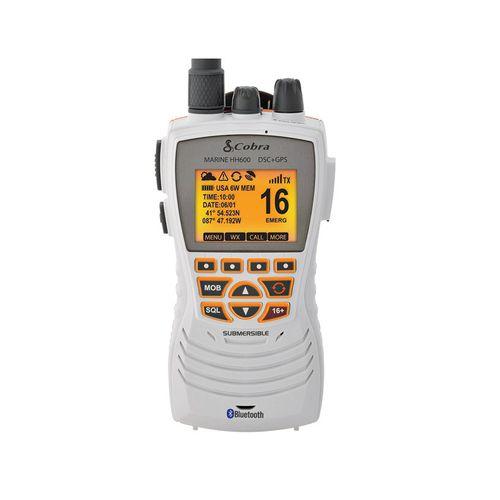 rádio para barco / portátil / VHF / submersível